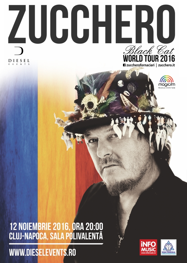 Zucchero - Black Cat World Tour 2016 (Cluj)