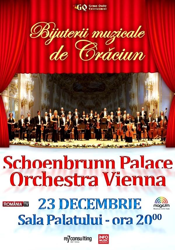 Schoenbrunn Palace Orchestra Vienna - Bijuterii muzicale de Crăciun