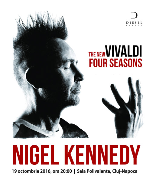 Nigel Kennedy - Vivaldi The New Four Seasons (Cluj)