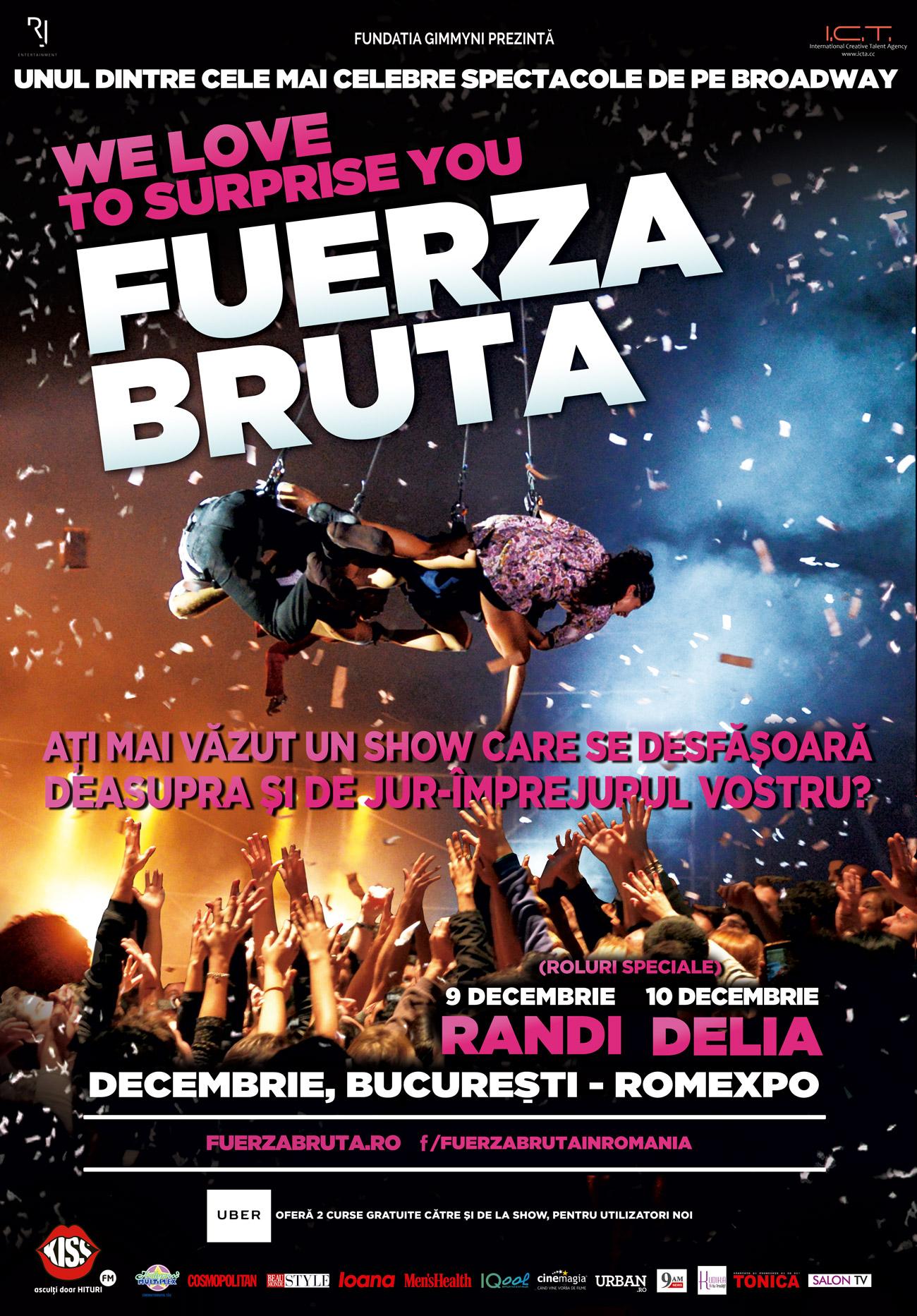 Fuerza Bruta - Randi special guest