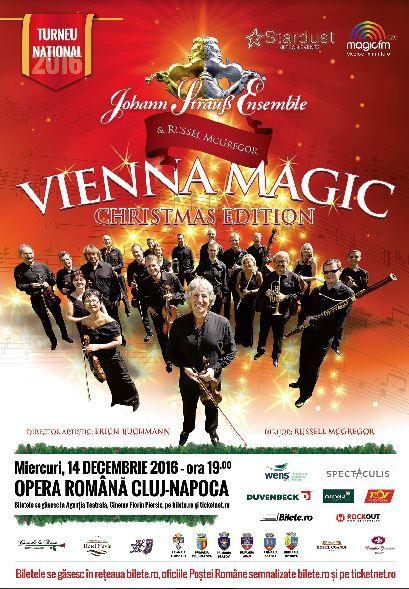 Johann Strauss Ensemble - CLUJ - Vienna Magic - Christmas Edition
