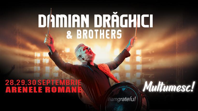 Damian Drăghici & Brothers - Mulțumesc!