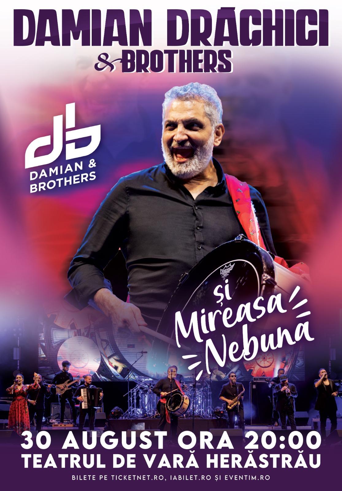 Damian Drăghici & Brothers - Mireasa nebună