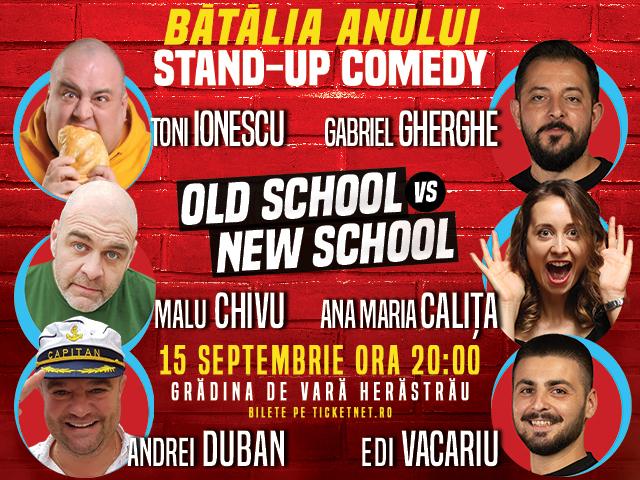 ANULAT Old School vs New School - Bătălia anului