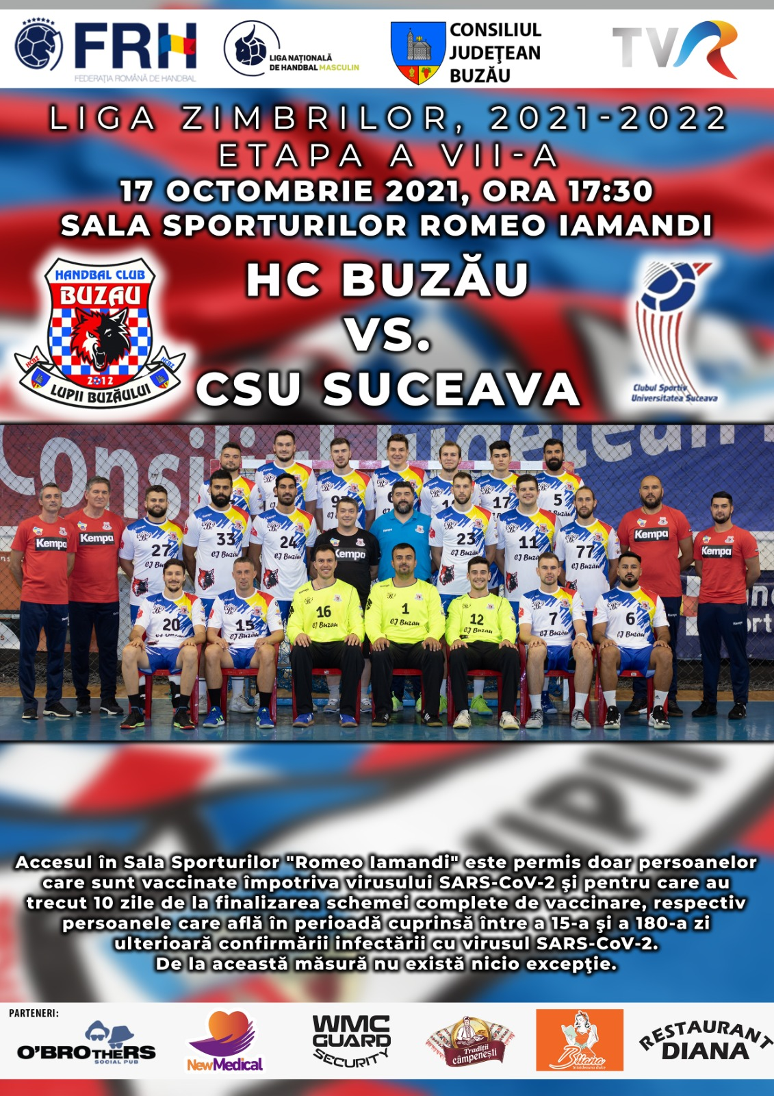 HC Buzău - CSU Suceava