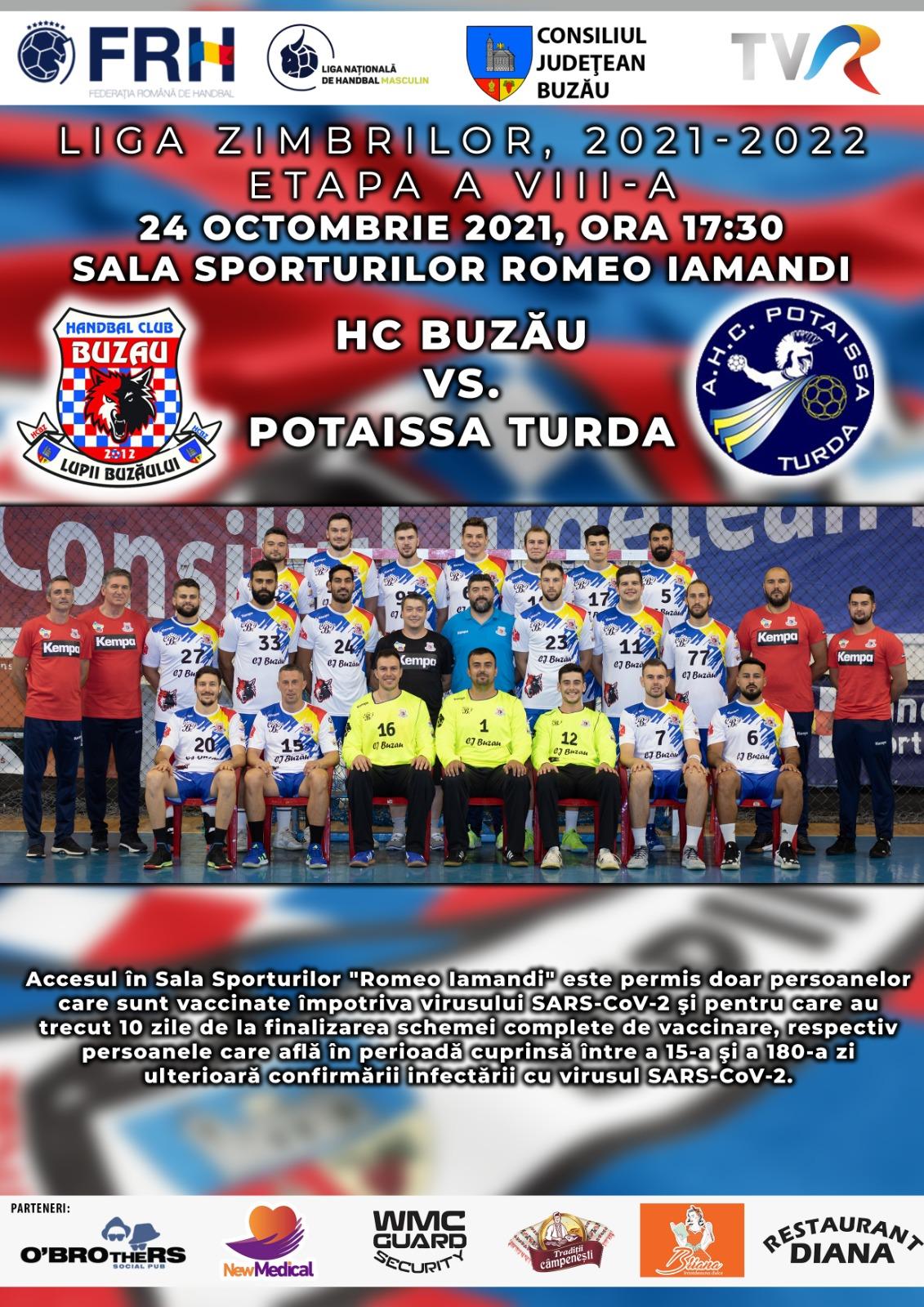 HC Buzău - Potaissa Turda