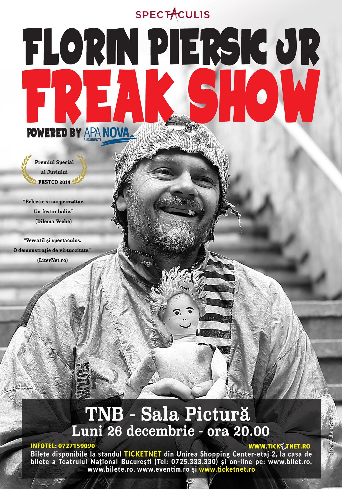 Florin Piersic jr. - Freak show