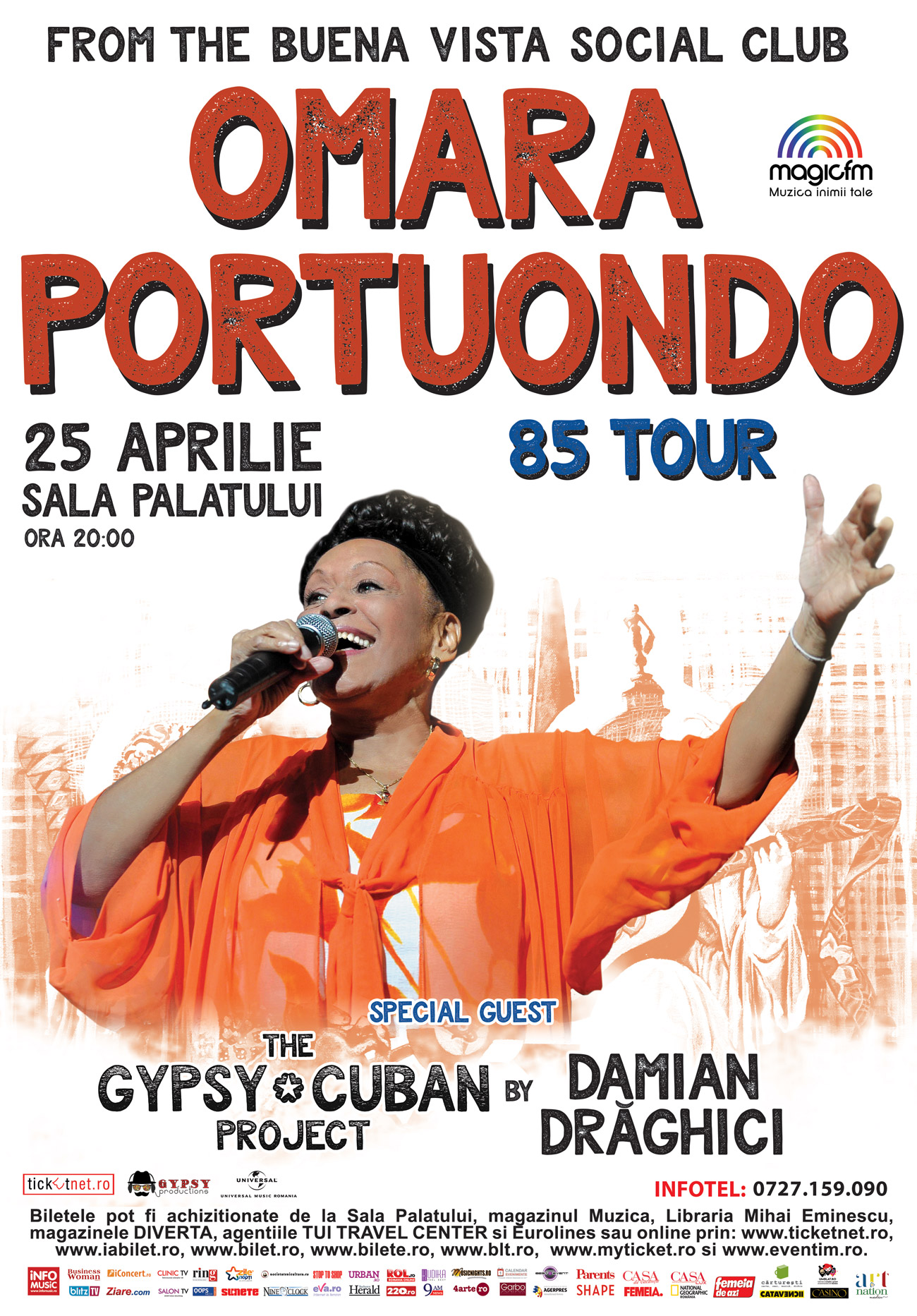 OMARA PORTUONDO 85 - Celebrating Music