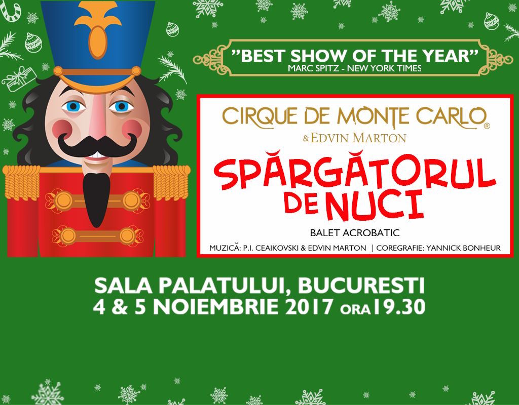 "Cirque de Monte Carlo & Edvin Marton – ""Spargatorul de nuci"""