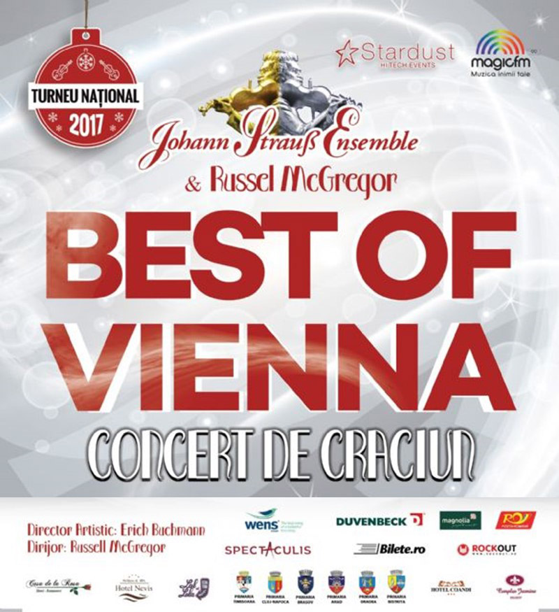 Johann Strauss Ensemble - BRAŞOV - Best of Vienna