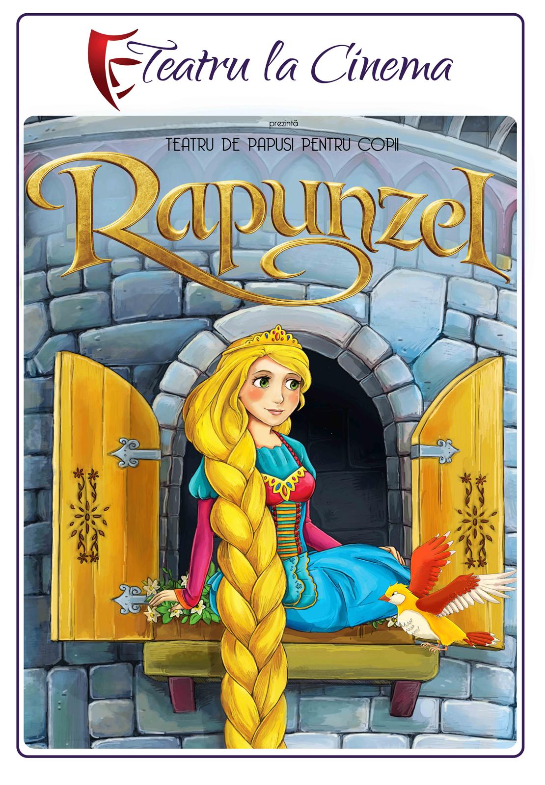 Rapunzel, prințesa furată