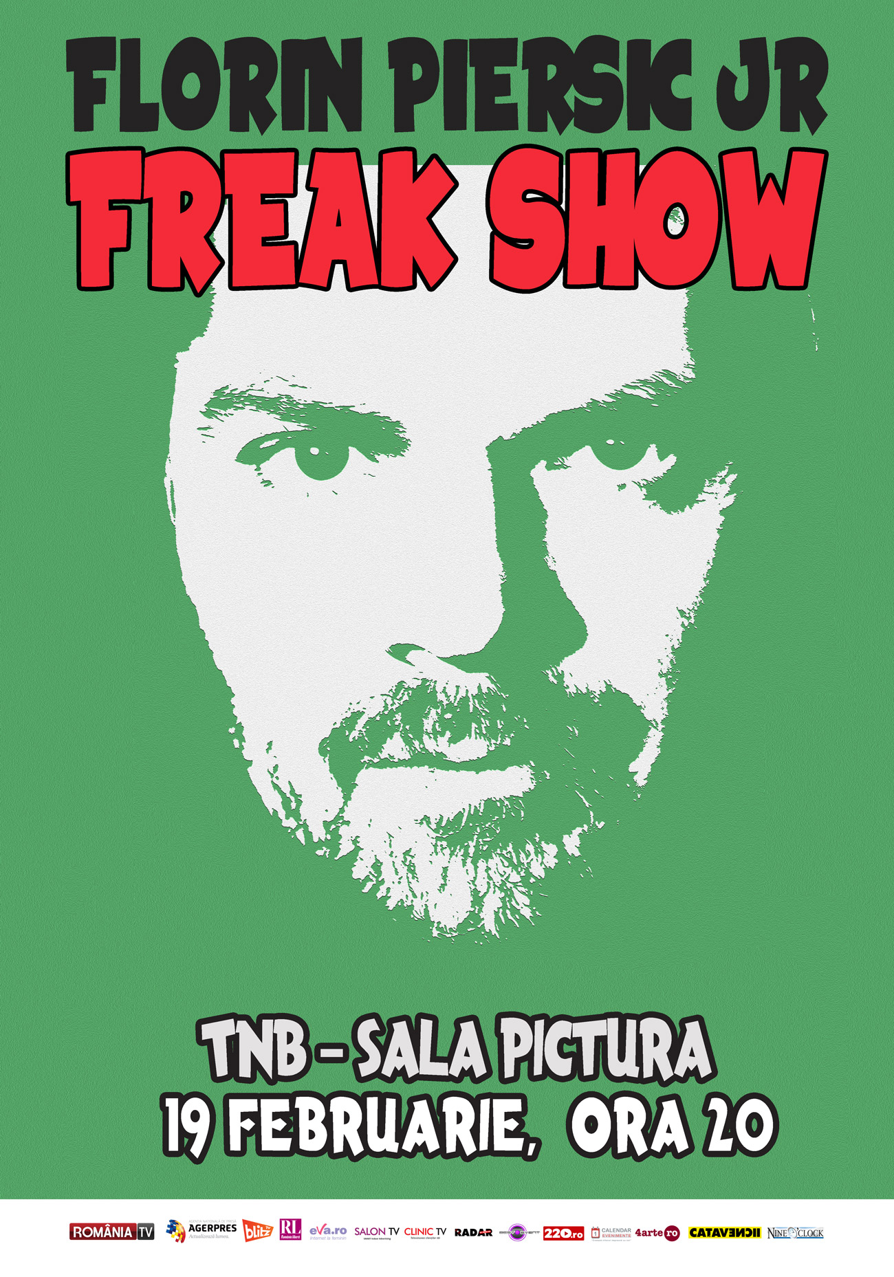 Florin Piersic jr. - Freak Show Xmas Edition