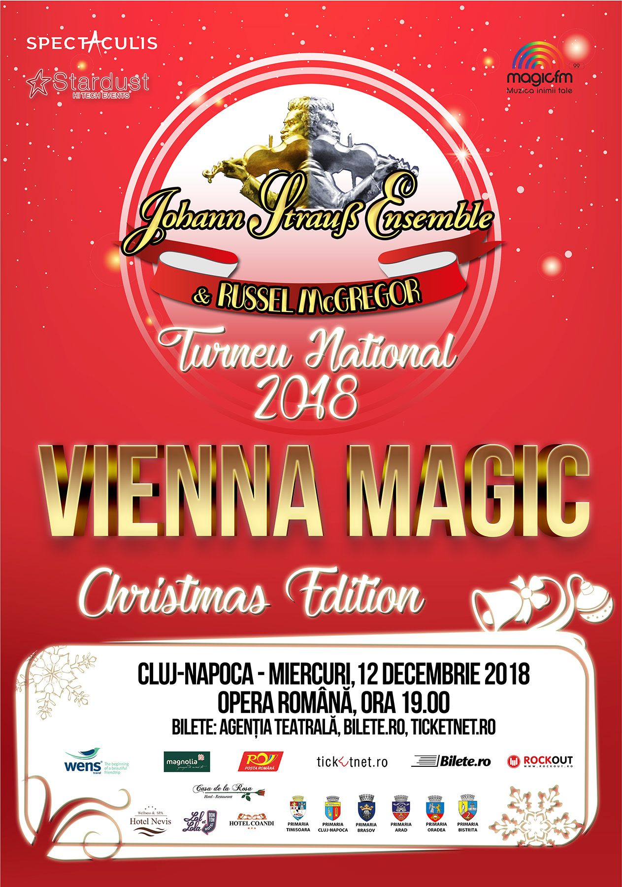 Johann Strauss Ensemble - Vienna Magic - Christmas Edition
