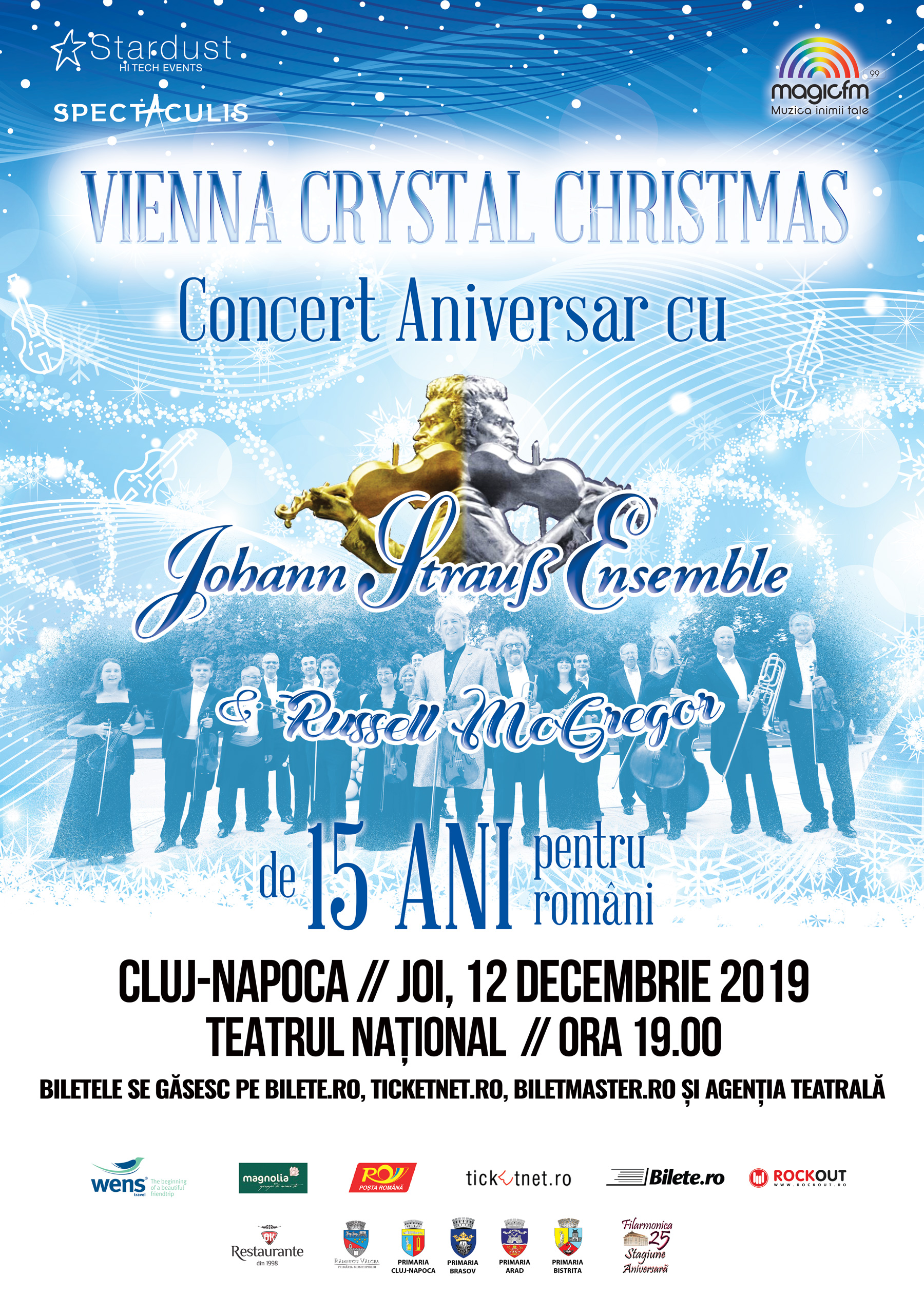 Johann Strauss Ensemble - Vienna Crystal Christmas - CLUJ