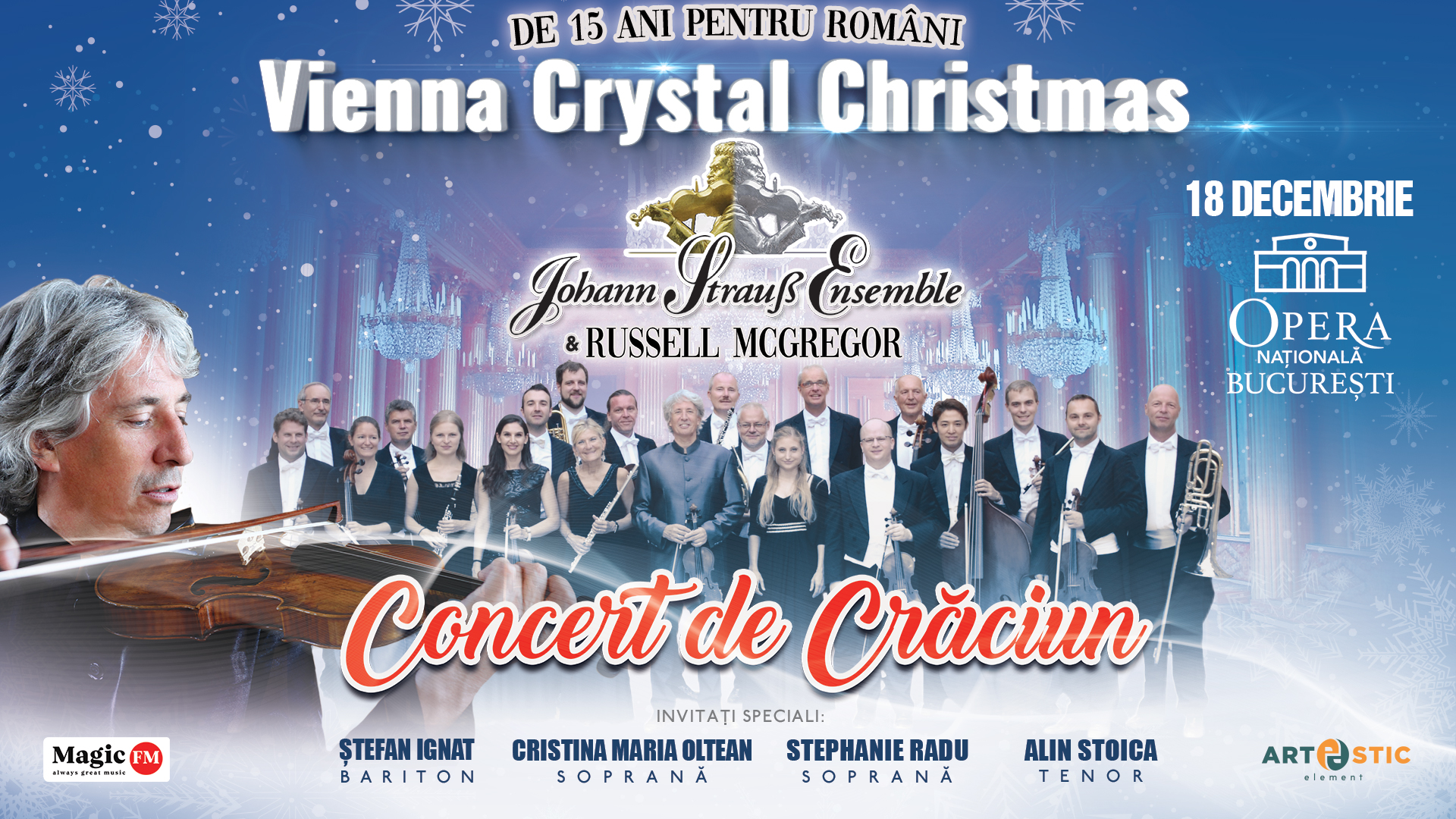 Johann Strauss Ensemble - Vienna Crystal Christmas - ARAD
