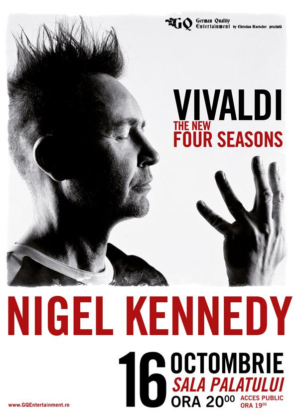 NIGEL KENNEDY - Vivaldi The new Four Sesons