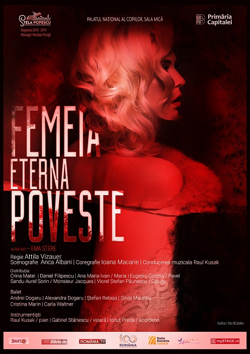 Femeia, eterna poveste - Teatrul Stela Popescu