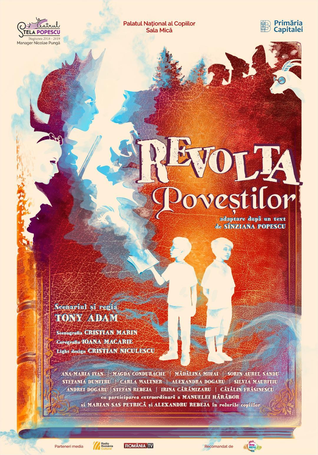 Revolta Povestilor - Teatrul Stela Popescu